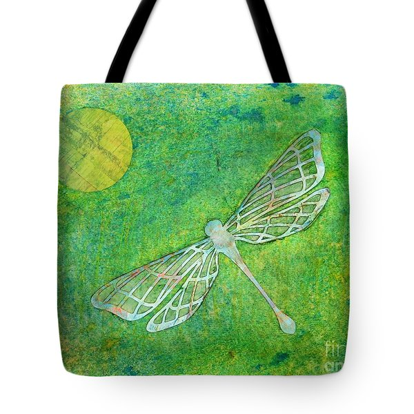 Dragonfly Tote Bag by Desiree Paquette
