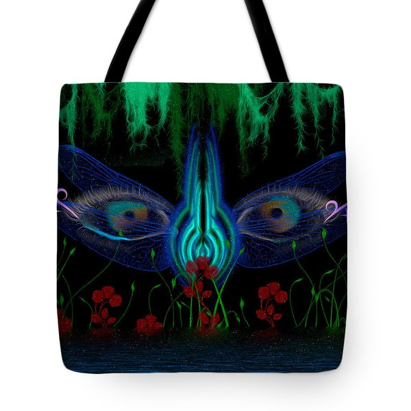Dragonfly Eyes Series 6 Final Tote Bag