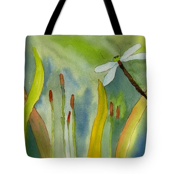 Dragonfly Fantasy Flight Tote Bag