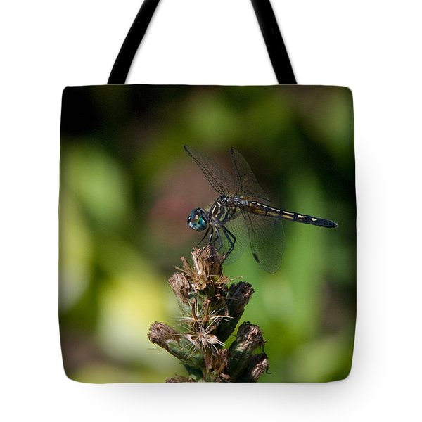 Tote Bag featuring the photograph Dragonfly by Greg Graham