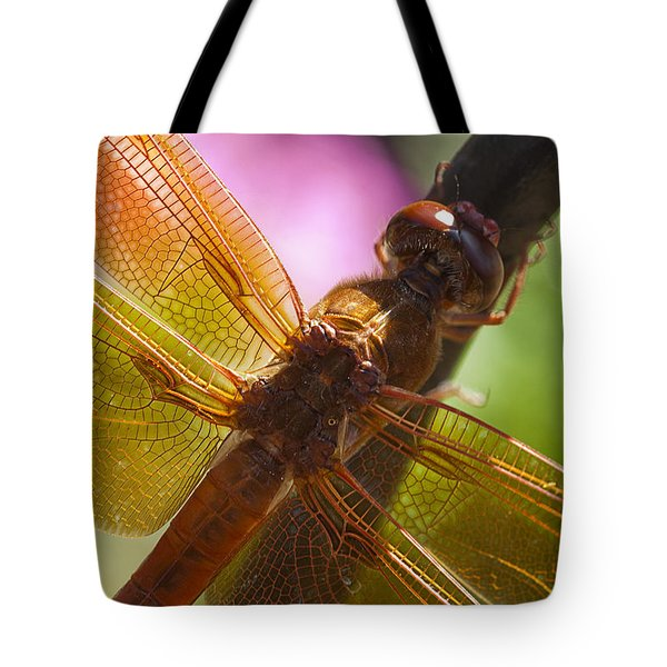Dragonfly Patterns Tote Bag