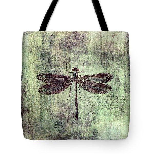Dragonfly Tote Bag by Priska Wettstein
