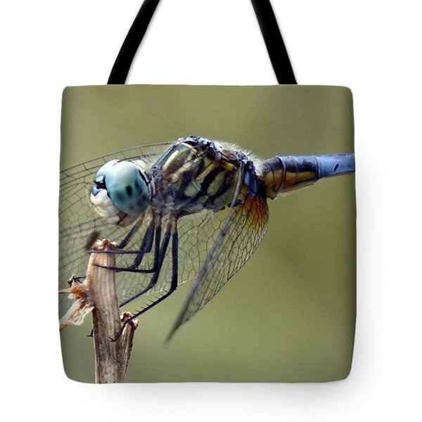 Dragonfly Smile Tote Bag
