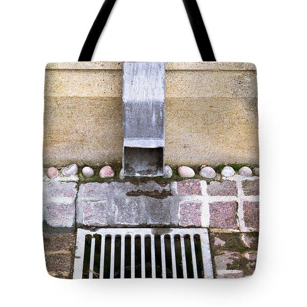 Drain Tote Bag