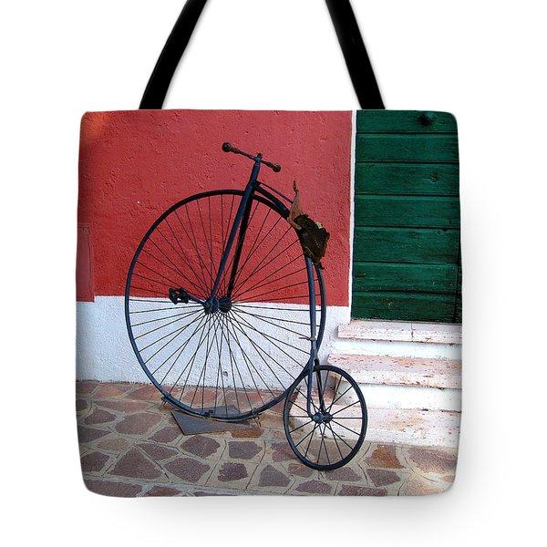 Draisina Tote Bag