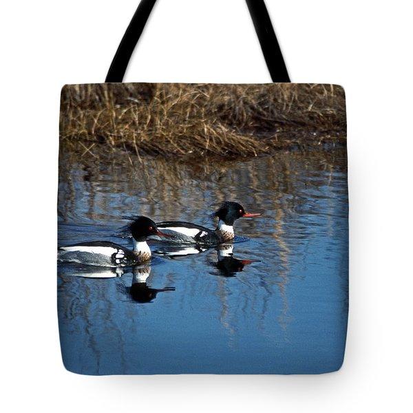 Drakes A Pair Tote Bag by Skip Willits