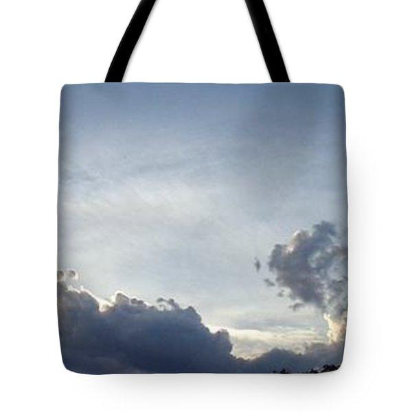 Tote Bag featuring the photograph Drama by Christina Verdgeline