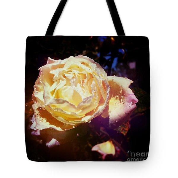 Dramatic Rose Tote Bag