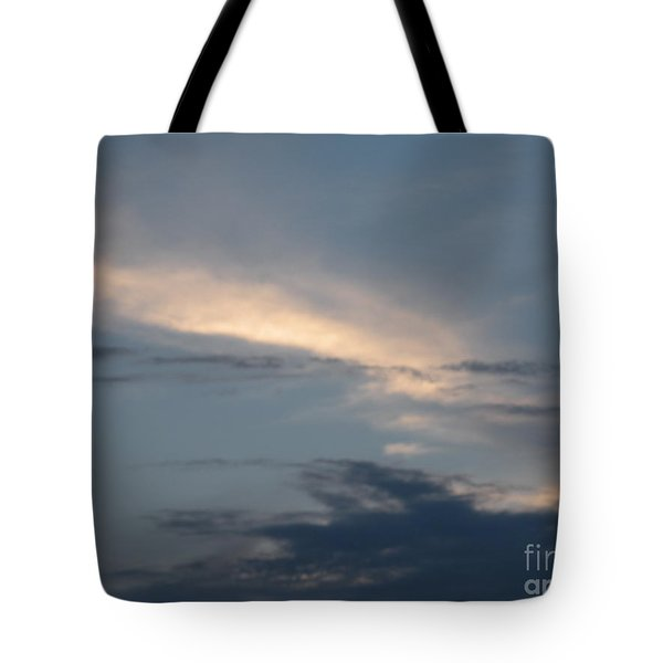 Dramatic Skyline Tote Bag