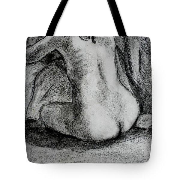 Drapery Pull Tote Bag
