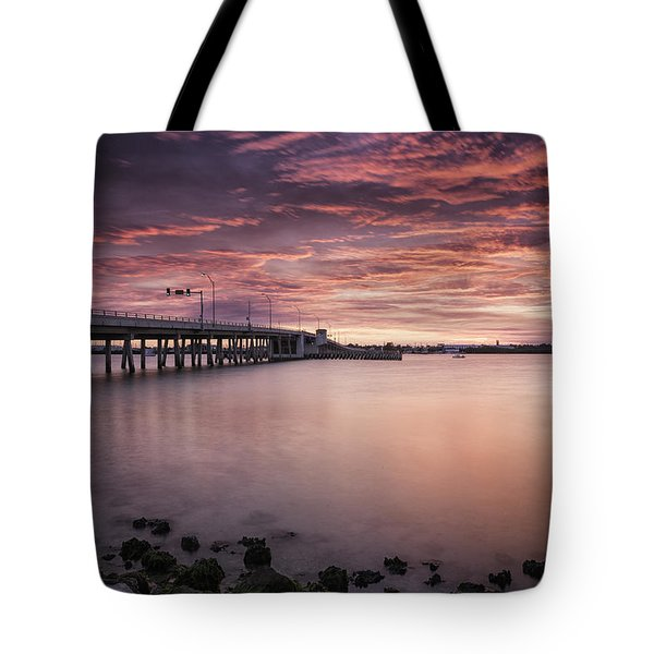 Drawbridge At Dusk Tote Bag