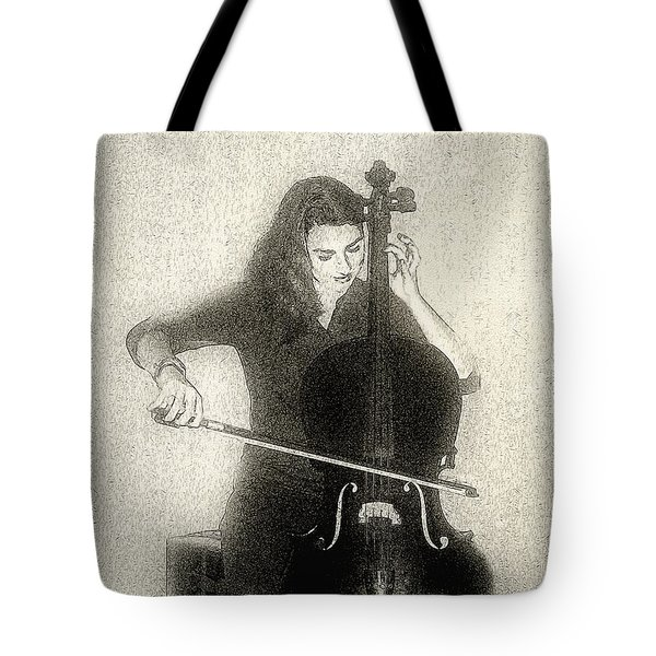 Drawing The Bow Tote Bag