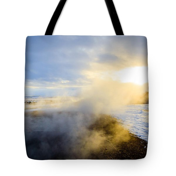 Tote Bag featuring the photograph Drawn To The Sun by Peta Thames