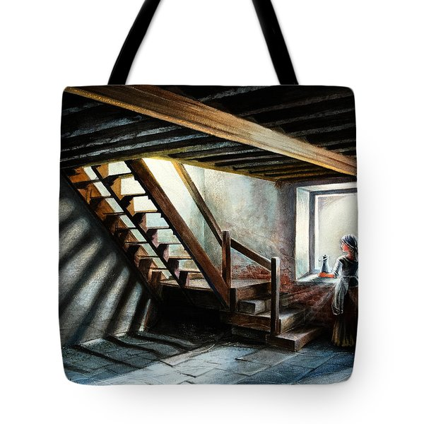 Drayton Hall- A Quiet Moment Tote Bag