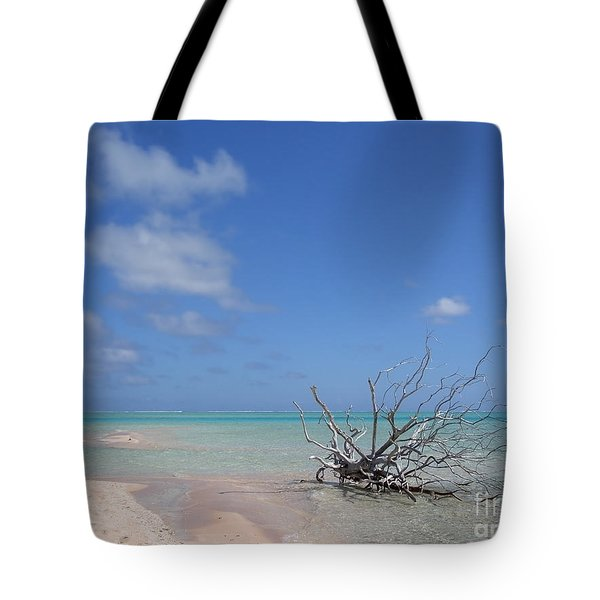 Dream Atoll  Tote Bag by Jola Martysz