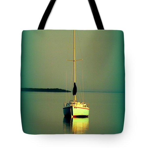 Dream Bay Tote Bag by Karen Wiles
