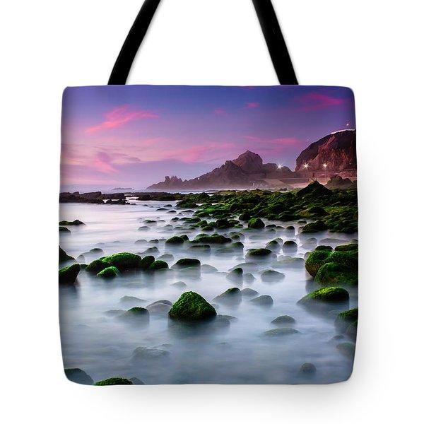 Dream Beach Tote Bag by Edgar Laureano