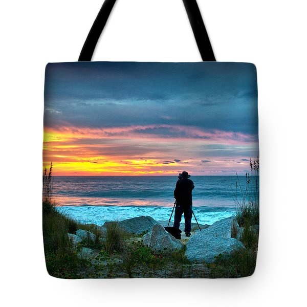 Tote Bag featuring the photograph Dream Big Dreams In Color by Phil Mancuso