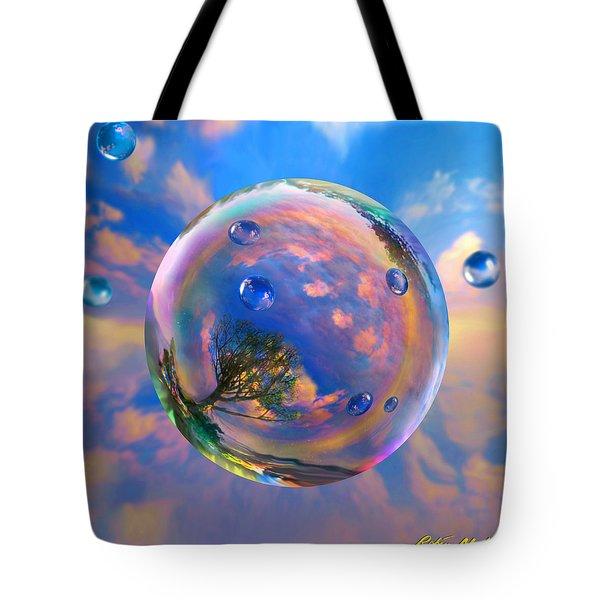 Dream Bubble Tote Bag by Robin Moline