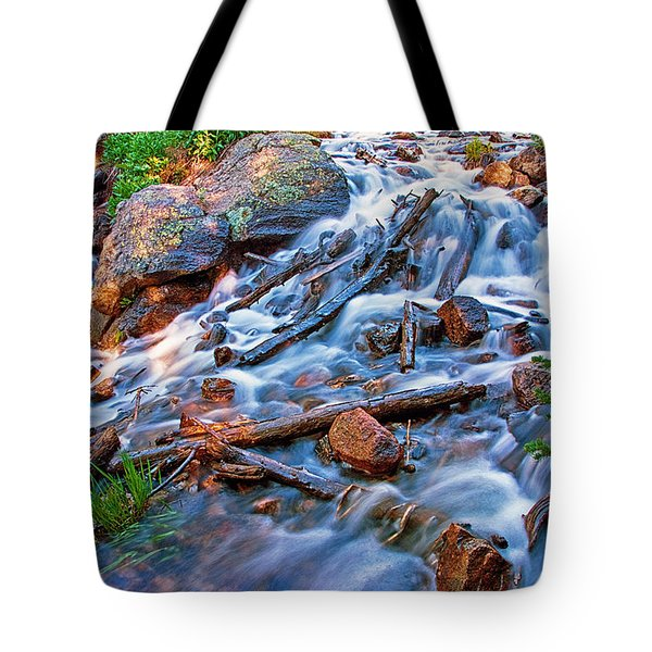 Dream Cascade Tote Bag by Brian Kerls