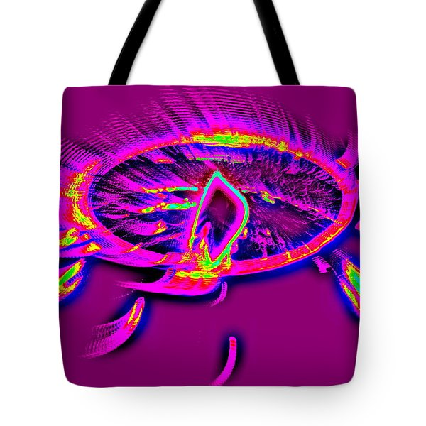 Dream Catcher With Light Tote Bag