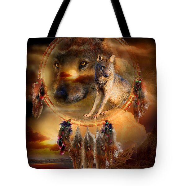 Dream Catcher - Wolfland Tote Bag