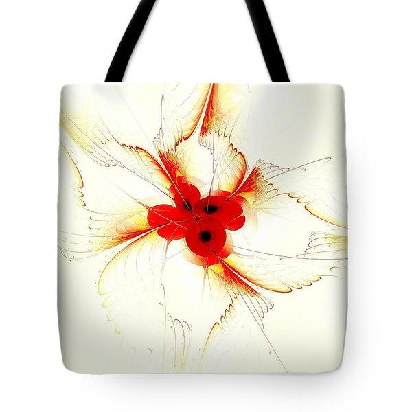 Dream Flower Tote Bag by Anastasiya Malakhova