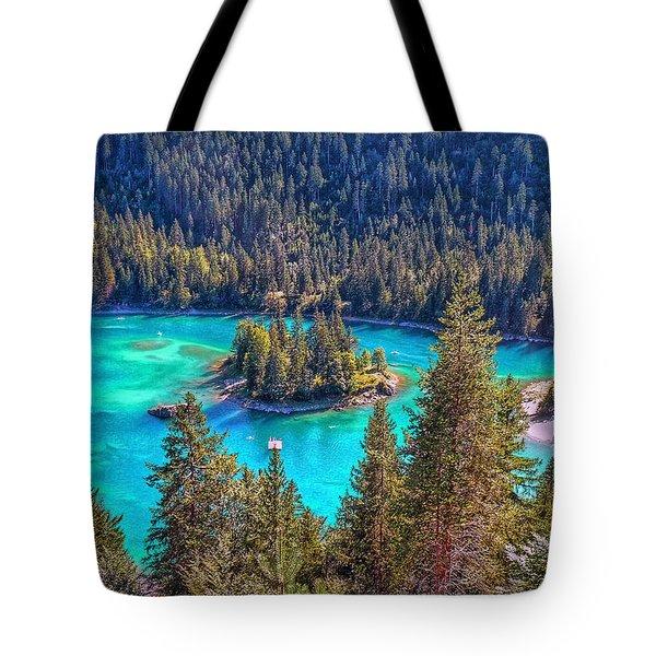 Dream Lake Tote Bag