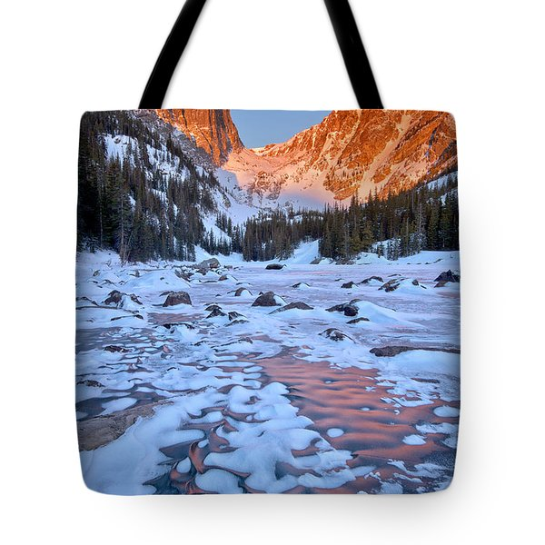 Dream Lake - Rocky Mountain National Park Tote Bag by Ronda Kimbrow