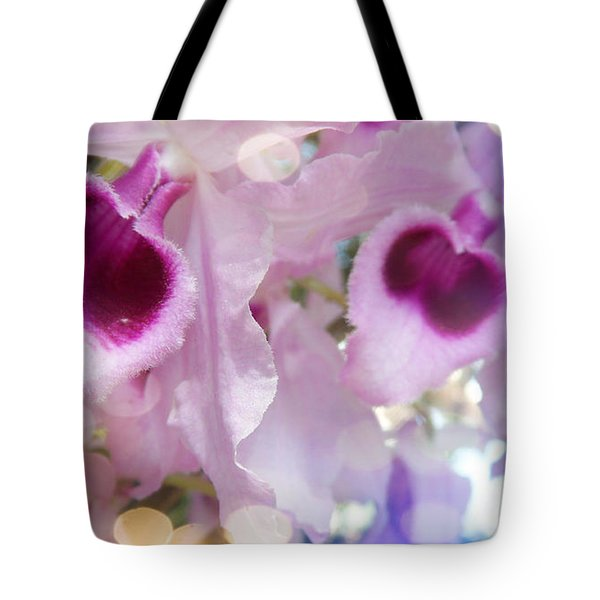 Dream Of Orchids Tote Bag