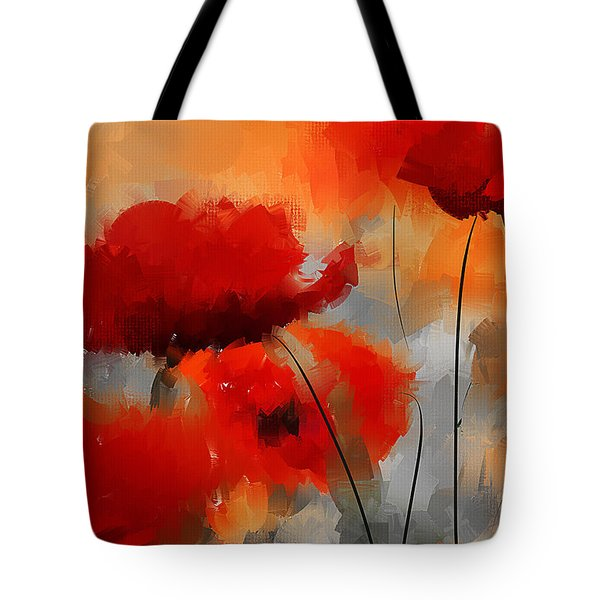 Dream Of Poppies Tote Bag