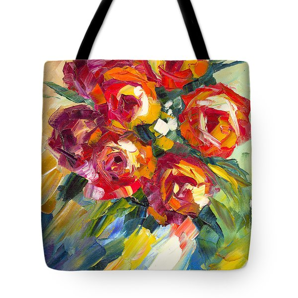 Dream Roses Tote Bag by Jessilyn Park