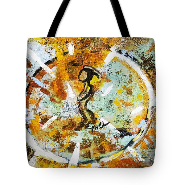 Tote Bag featuring the painting Dream by Tarra Louis-Charles