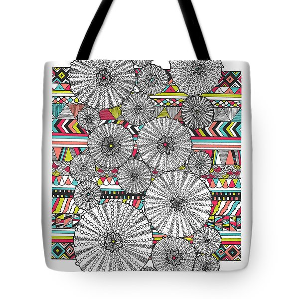 Dream Urchins Tote Bag by Susan Claire