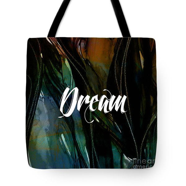 Dream Wall Art Tote Bag by Marvin Blaine