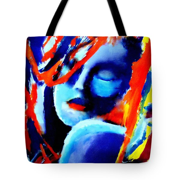 Dream Within A Dream Tote Bag by Helena Wierzbicki