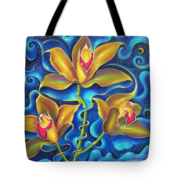 Tote Bag featuring the painting Dream Within A Dream by S G