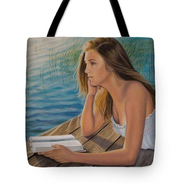 Dreamer Tote Bag by Holly Kallie
