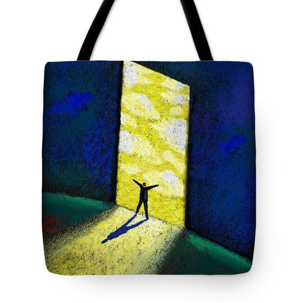 Discovery Tote Bag by Leon Zernitsky