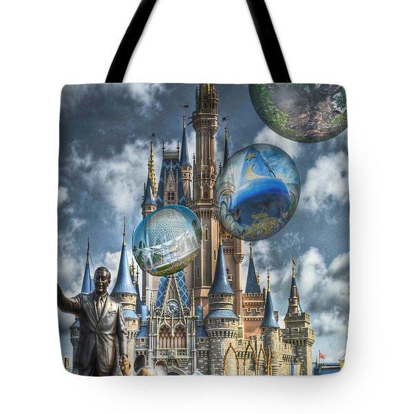 Dreamer Of Dreams Tote Bag by Ryan Crane