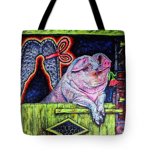 Tote Bag featuring the painting Dreamer by Viktor Lazarev