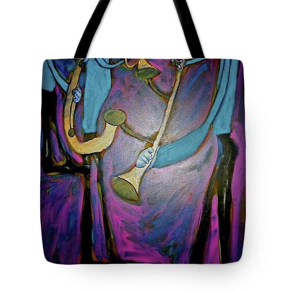 Dreamers 00-001 Tote Bag by Mario Perron