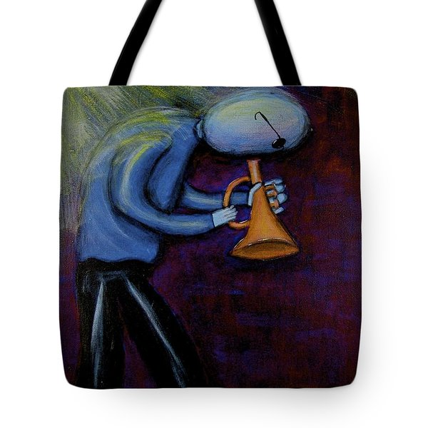 Tote Bag featuring the painting Dreamers 99-001 by Mario Perron