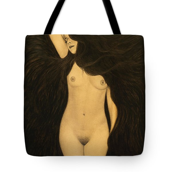 Dreaming Tote Bag by Lynet McDonald