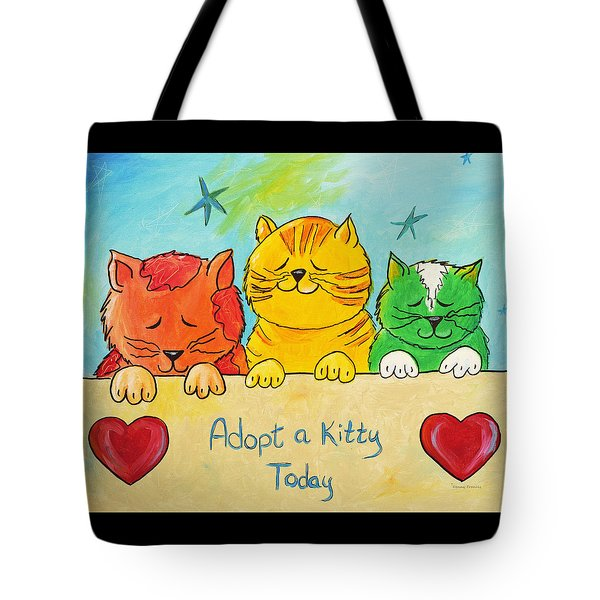 Dreaming Of A Fur-ever Home Tote Bag