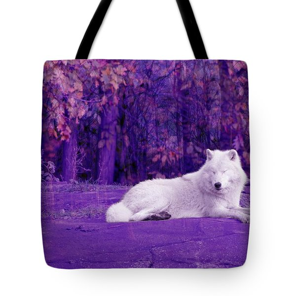 Dreaming Of Another World Tote Bag by Vicki Spindler
