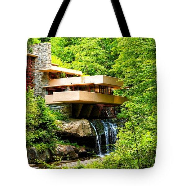 Dreaming Of Fallingwater 3 Tote Bag