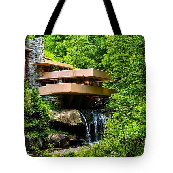 Dreaming Of Fallingwater 4 Tote Bag