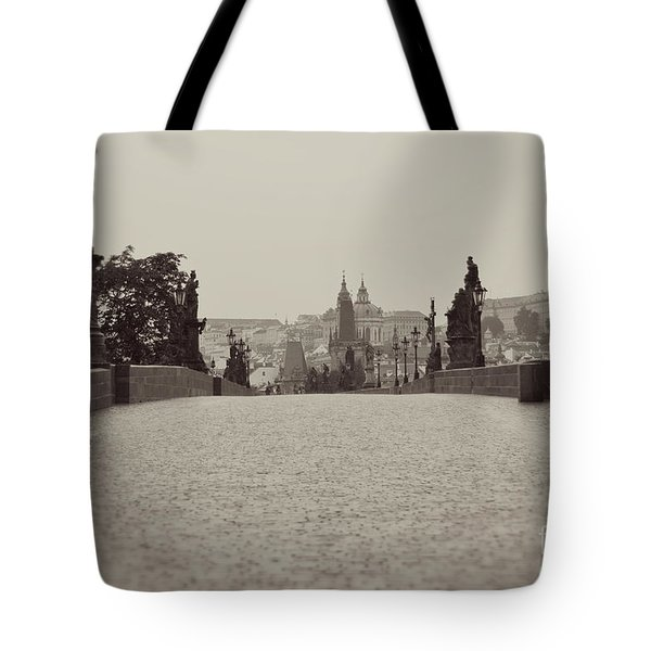 Dreaming Of Prague Tote Bag by Ivy Ho