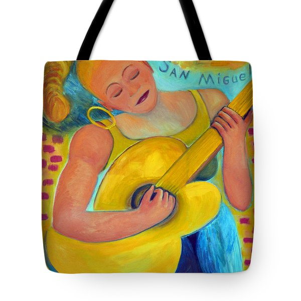Dreaming Of San Miguel Tote Bag by Karen Francis